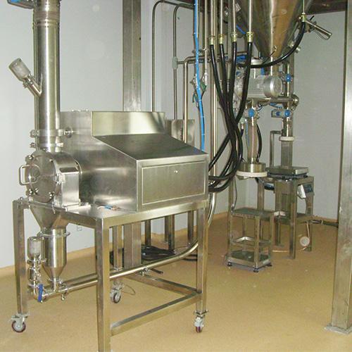 实验型气流粉碎机
